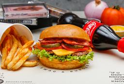 2 Bacon Cheese Burger En Combo