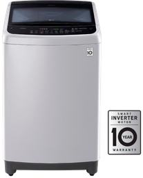 Lavadora LG 37 libras (17 kg) Smart Inverter - Gris