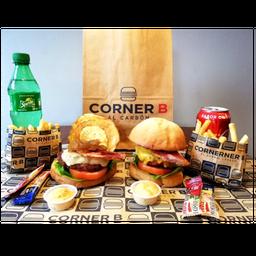 🍔🍔🍟🍟🥤🥤Super Combo Corner B