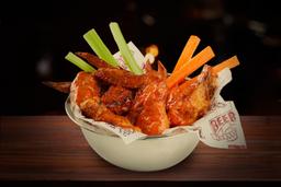 Bs wings x 10 + 1 salsa