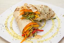 Wrap Vegetariano + Batido Gratis