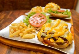 Menú 4 Rib Burger