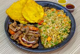 Lomo al wok