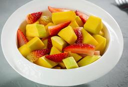 Mango y fresa