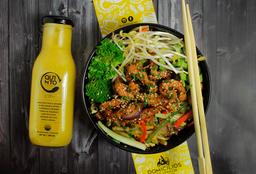 🍜Combo Salteado al wok + Bebida