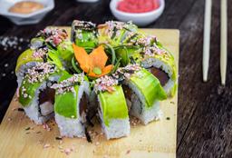 Fish Fray Sushi Roll