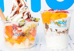 Ensalada de Frutas + Saludable Yogurt