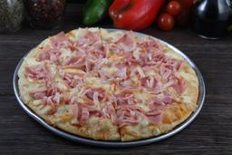 Pizza Tocineta y Jamón