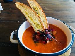 Sopa de Tomates Frescos