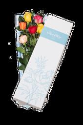 La caja * 6 Rosas