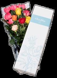 La caja *10 rosas