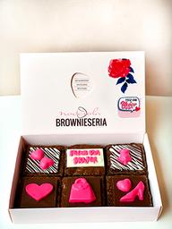 Caja de 6 Brownies Personalizados