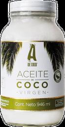 A de Coco Aceite de Coco Virgen - 946 ml