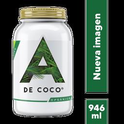 A de Coco Aceite de Coco Extra Virgen Orgánico