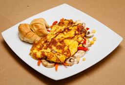 Omelette con Vegetales