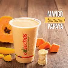 Mango, Banano, Papaya