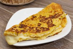 Arepa de Chocolo Jamón y queso