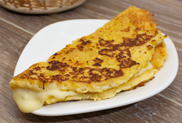 Arepa de Chocolo, Carne o Pollo