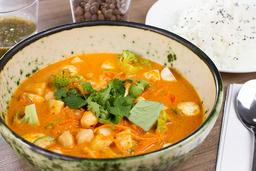 Curry Rojo Vegano