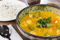 Curry Amarillo Vegano