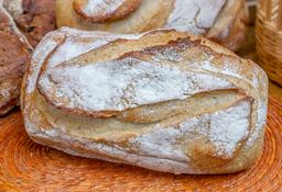 Pan rústico artesanal