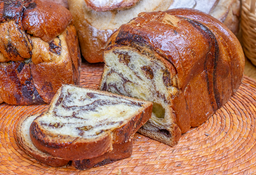 Pan Brioche Molde Chocolate