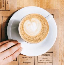 Cappuccino Decaf.