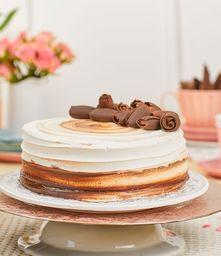 Torta Vainilla y Chocolate