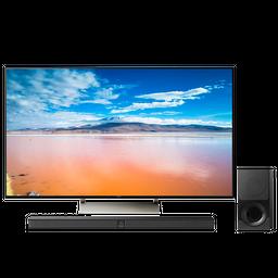 Televisor Sony 4k Hdr De 75¨ Android + Barra de sonido