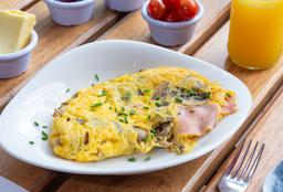 Omelette Champiñon y Queso