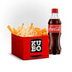 Kubo Mixto + Coca-cola (normal o zero)