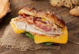 Sándwich de Pavo y Tocineta