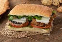 Sándwich de Portobello Apanado