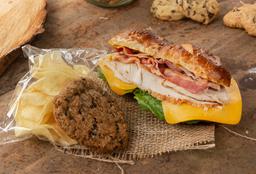 Sándwich + Papas Chips + Galleta + Regalo producto laminado!
