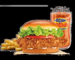 Combo Hamburguesa Crispy Chicken