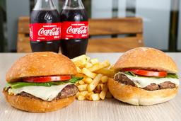 2 Cheeseburger en Combo