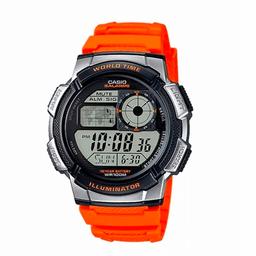 Reloj Casio AE-1000W-4BV Naranja Hombre