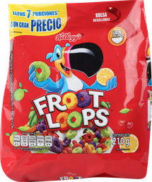 Froot Loops Cereal Bolsa