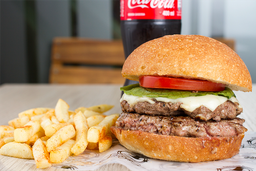 Combo Doble Cheeseburger