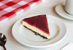 Cheesecake de Oreo con MoraPorción