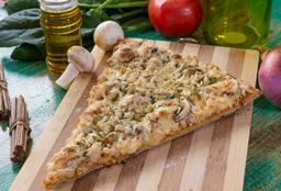 Pizza Pollo con Champiñon