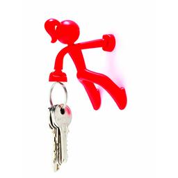 Porta Llaves Magnetico Mujer rojo