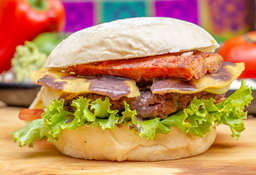 Hamburguesa Mexicana 200 gr.