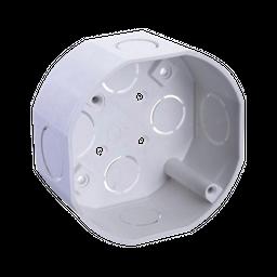 Caja Pvc Codelca Octagonal Blanca