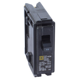 Breaker Enchufable Square D 1X15A Home