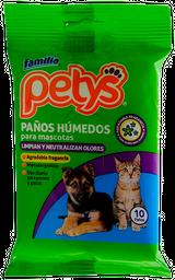 Set de 10 Paños Para Mascota Petys