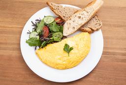 Omelette Espárragos y Queso