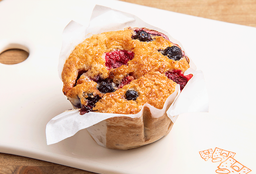 Muffin de Frutos del Bosque
