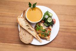 Bowl de Sopa y 1/2 Tartine del Día