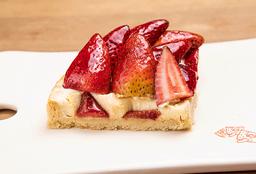 Porción de Pie de Fresas